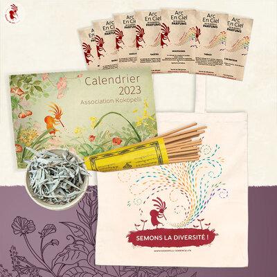 Arcs-en-Ciel - Arc-en-Ciel de Plantes à Parfums