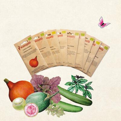 Collections Printanières - Légumes Orientaux