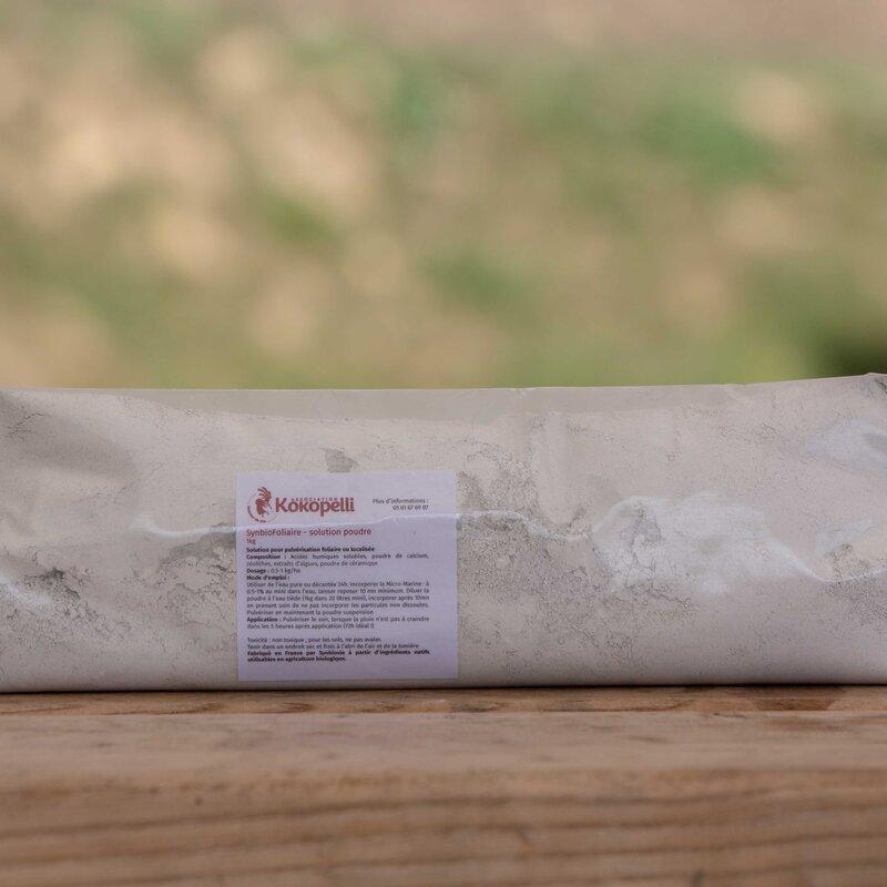 Poudres de Roches et Cie - Synbio Foliaire en poudre 1000g