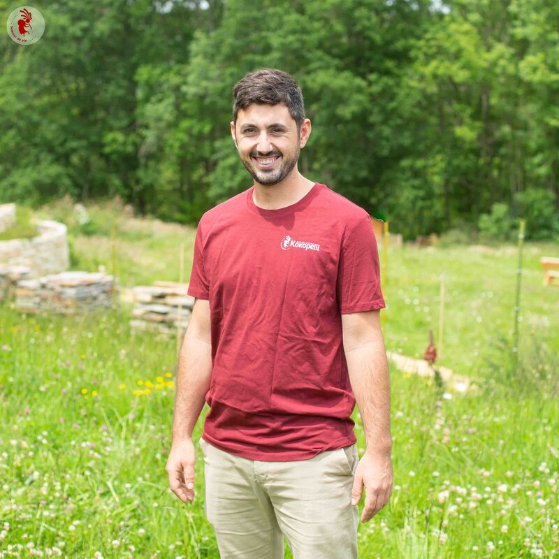 Vêtements - T-Shirt homme burgundy, taille XXL