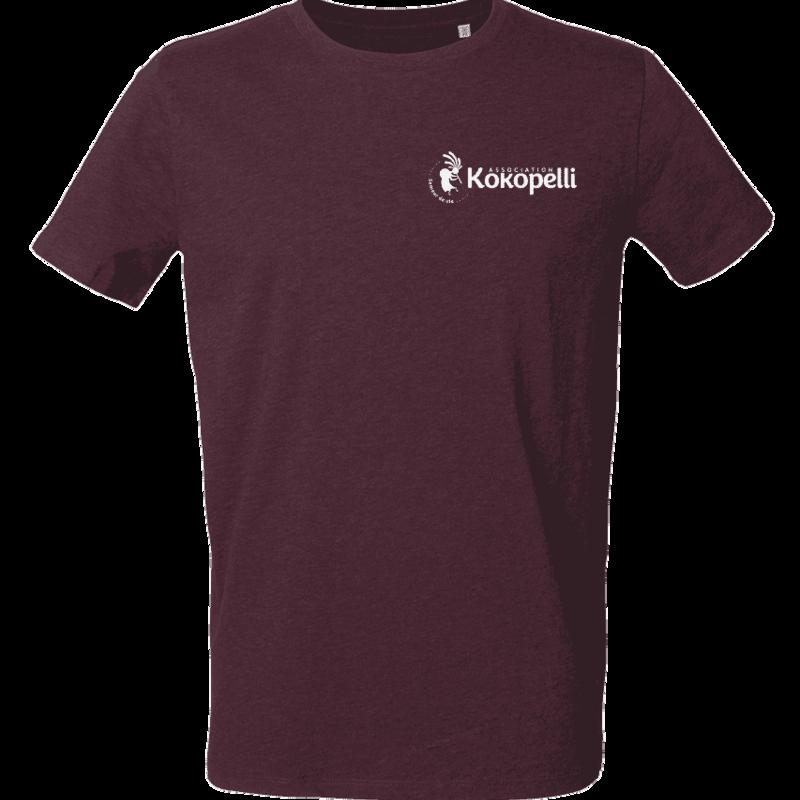 Vêtements - T-Shirt homme violet foncé, taille S