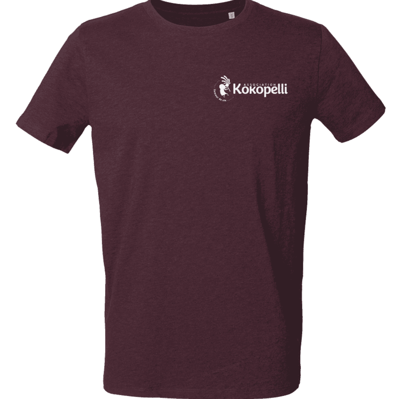Vêtements - T-Shirt homme violet foncé, taille XXL