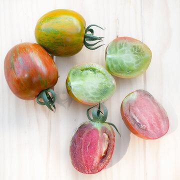 Tomates-Cerises - Zebra Creg