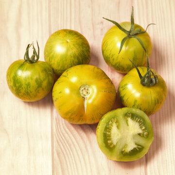 Tomates - Green Zebra