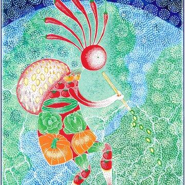Posters - Kokopelli, le Joueur de Flûte