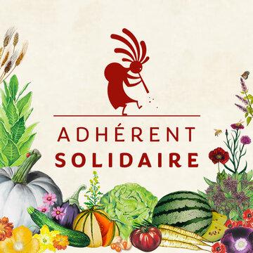 """Adhésions - Adhésion """"Solidaire"""""""