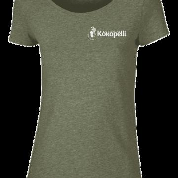 Vêtements - T-Shirt femme kaki, taille XS