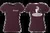 Vêtements - T-Shirt femme violet foncé, taille S