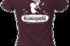 Vêtements - T-Shirt femme violet foncé, taille XL