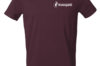Vêtements - T-Shirt homme violet foncé, taille M