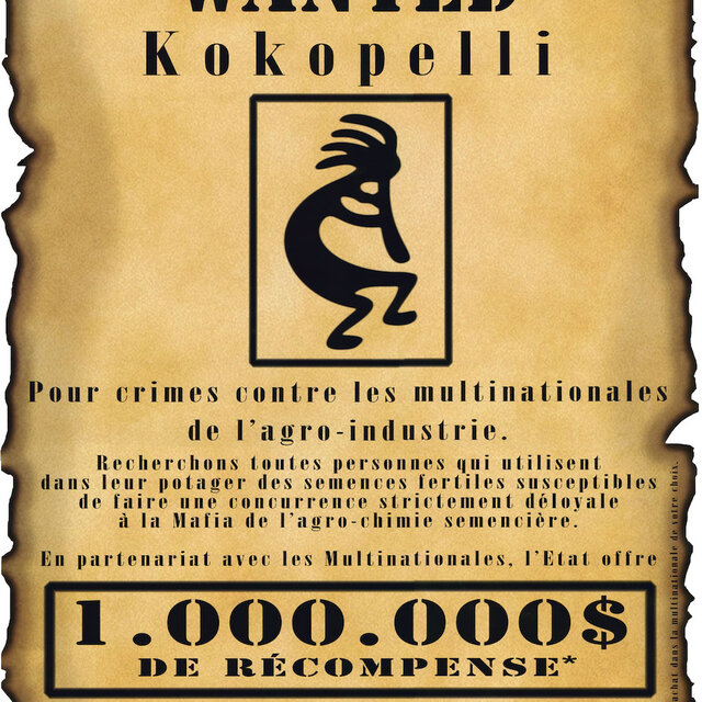 Posters - Wanted, Kokopelli