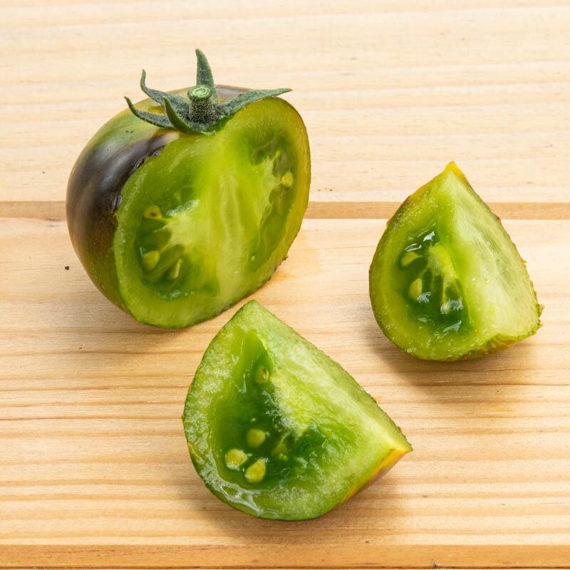 Tomates - Blue Green Zebra
