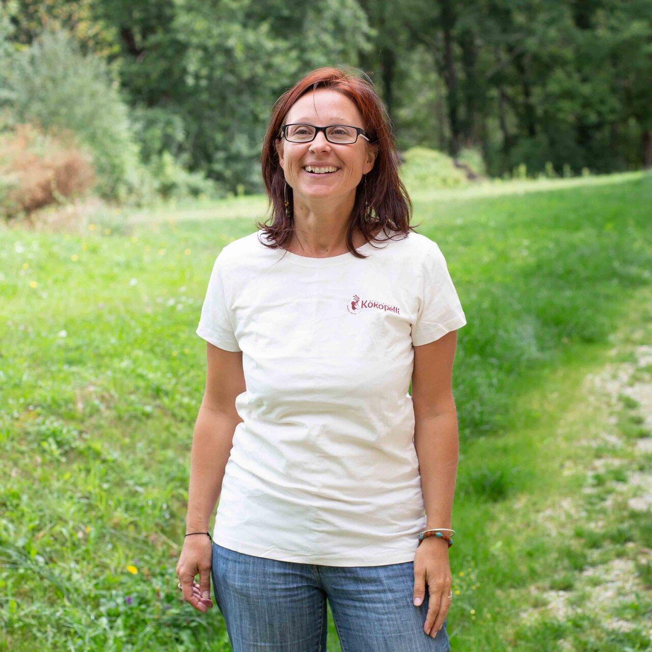 Vêtements - T-Shirt femme écru, taille M