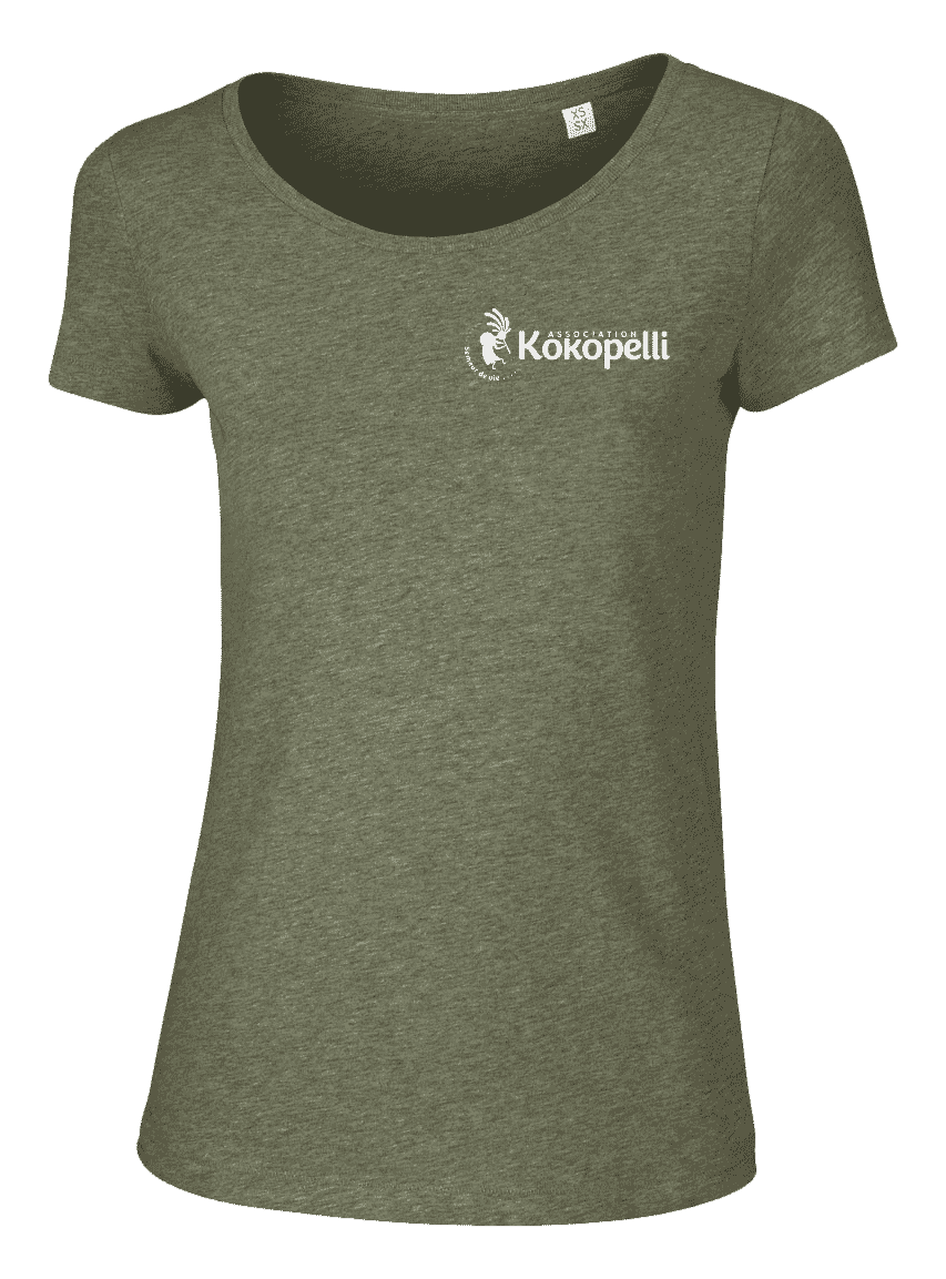 Vêtements - T-Shirt femme kaki, taille L