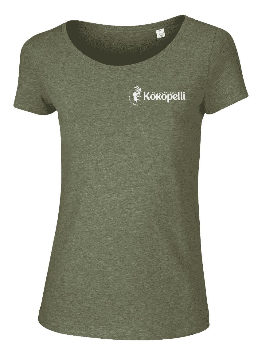 Vêtements - T-Shirt femme kaki, taille XL