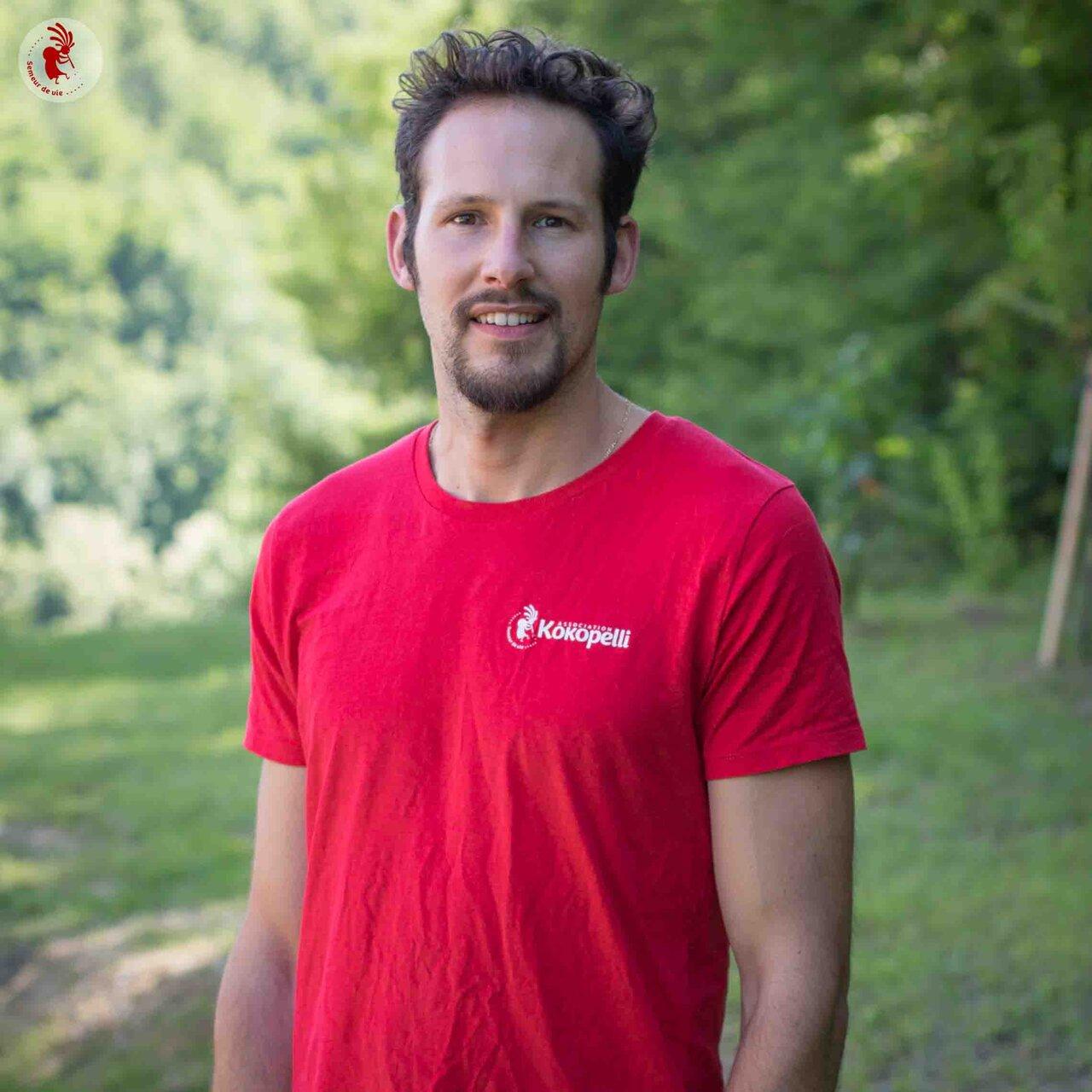 Vêtements - T-Shirt homme rouge, taille S